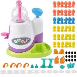 Dropshipping alta qualidade magia adesivo música onda oônias crianças diy artesanal criativo pegajoso bola diversão bolha inflator brinquedos