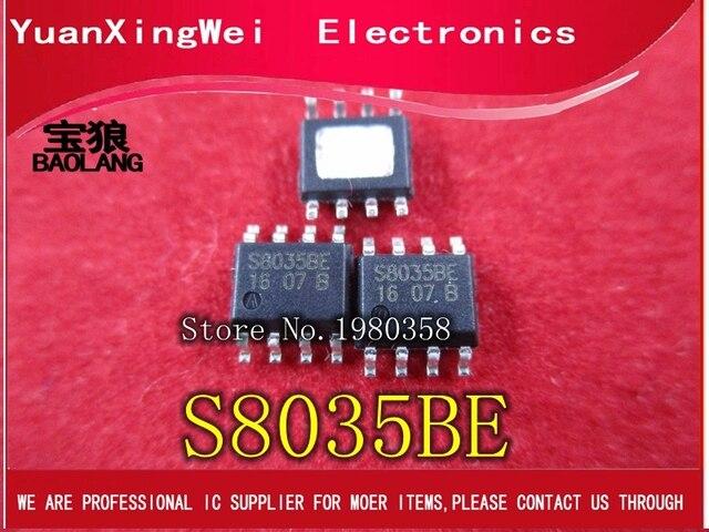 100 pcs/lot livraison gratuite STI8035BE STI8035 IC puissance S8035BE S8035 SOIC8