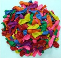 2000pcs /lot Free shipping 5 inch latex balloons / target ball / water inflatable / Apple ball / toy small ballon