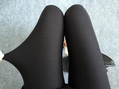 BIVIGAOS Spring Summer Womens Fashion Black Milk Thin Stretch leggings Colored Stars Graffiti Slim Skinny Leggings Pants Female 36