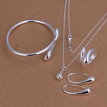 S222 Hot 925 sterling silver Jewelry Sets Earring 172 + Ring
