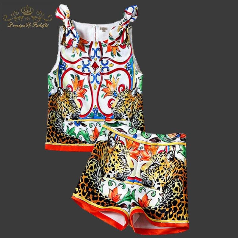 2018 новый бренд роскошные летние повседневные комплекты для детей рубашка с цветами + шорты Комплекты одежды для девочек 2 шт. детский летний
