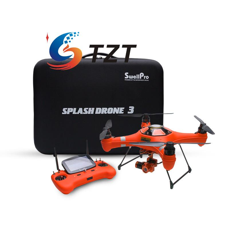 Swellpro Splash Drone 3 Waterproof with 4K Camera/Brushless Gimbal/Monitor/Remote Controller Auto Version Quadcopter RTF swellpro водонепроницаемые fpv беспилотный авто версия