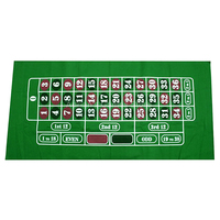180*90cm Russian Roulette Table Cloth Roulette Poker Table Mat Board Games BIG layouts Roleta/Rulet