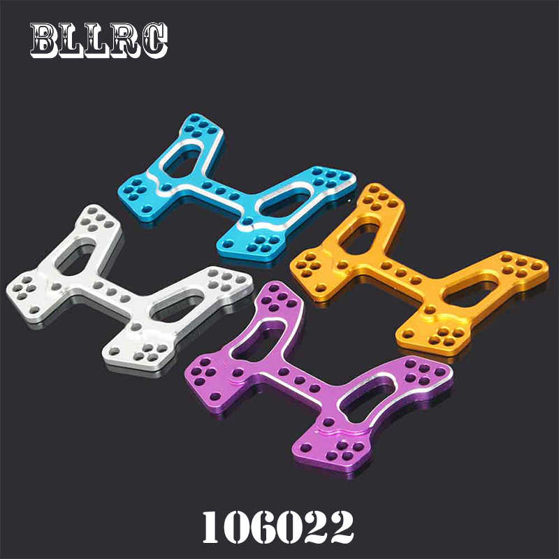 RC car 1/10 1:10 HSP 106022 166022 Thickening type Aluminum Front Shock Tower 06013 06058 Upgrade Parts For 94106 94166 94107