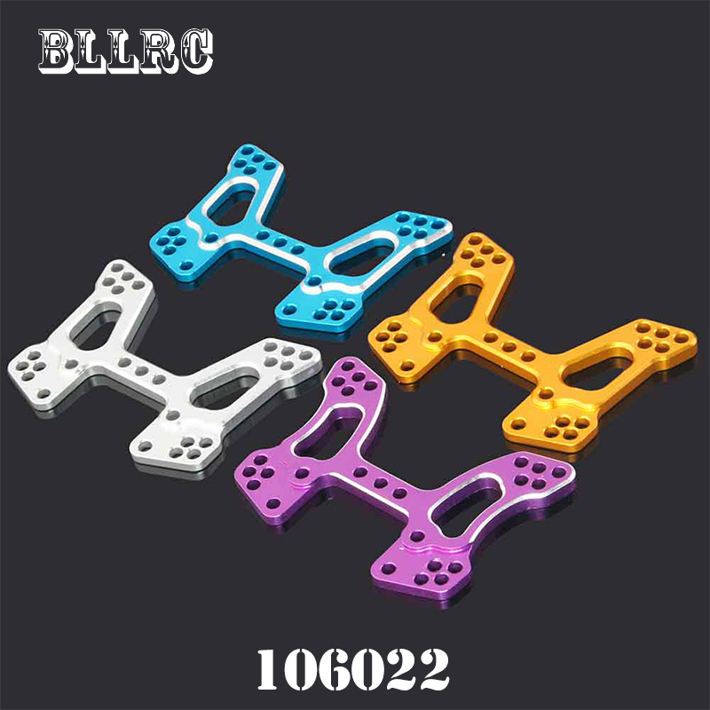 RC car 1/10 1:10 HSP 106022 166022 Thickening type Aluminum Front Shock Tower 06013 06058 Upgrade Parts For 94106 94166 94107 2pcs rc car 1 10 hsp 06053 rear lower suspension arm 2p for 1 10 4wd rc car hsp 94155 94166 94177