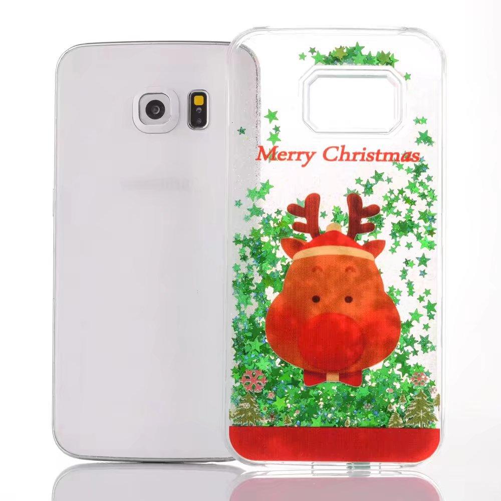 Flash Liquid Case For iPhone 7 plus Luxury Cover Christmas Phone ...