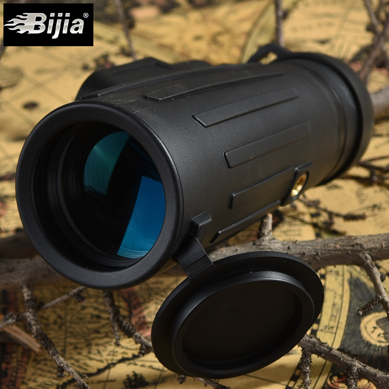 BIJIA 10x42 Monocular Telescope Waterproof BAK4 Focus Travel Camping Outdoor Optic Hiking Monoculars Hunting Teleskop Birdwatch 8 colours colorful curly hair party cosplay long wavy wigs
