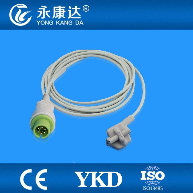 ФОТО BLT Biolight  compatible pediatric soft tip sensor,3m,6pin
