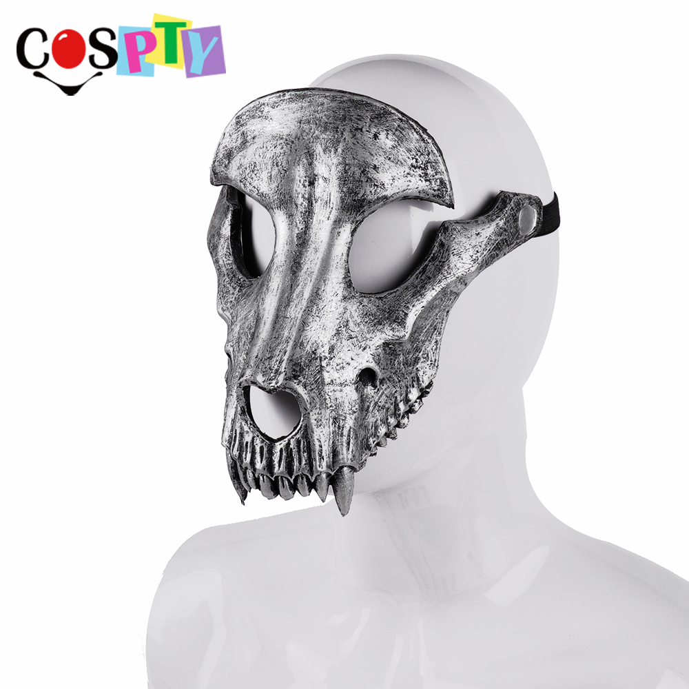 Image 4 - Cospty Mascaras Disfraces Festival Day of The Dead Halloween Party Masquerade Creepy Horror Terror Scary Costume Skull MaskBoys Costume Accessories   -