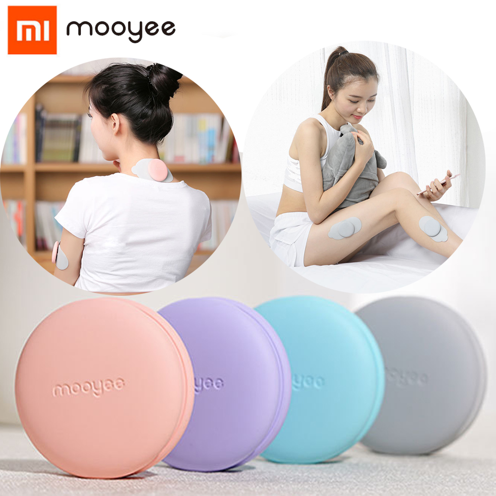 Xiaomi Mooyee Smart Relaxer Wireless Smart Bluetooth Back Relaxer Smart Massager for iPhones and Android Phones vadesity dark and lovely superior moisture relaxer regular