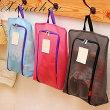 XINAHER Laundry Clothes Underwear Pouch Organizer Storage Case Portable Waterproof Shoes Storage Bag Travel Tote Toiletries Mesh