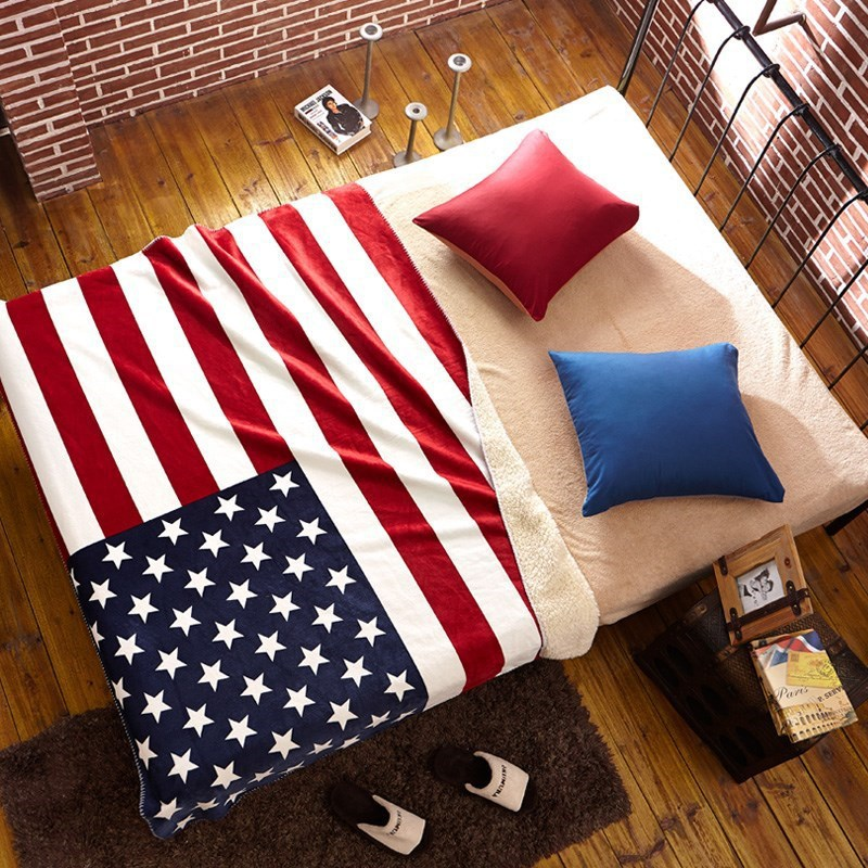 American Flag Crochet Blanket 7500 Photo Blanket