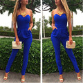 Sexy Tube Piece Pants Rompers Womens Jumpsuit Sleeve Jumpsuit Bodysuit Slim One Piece Romper