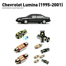 Led interior lights For Chevrolet lumina 1995-2001 11pc Led Lights For Cars lighting kit automotive bulbs Canbus Error Free цена