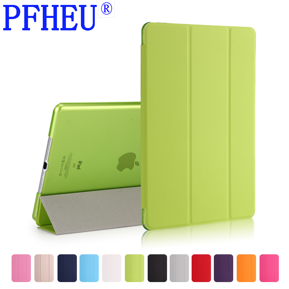 Case for Apple iPad Air2, Rubber Cover Ultra Slim Fit PU Leather Smart Case Rubberized Back Cover for iPad6 for iPad Air 2 Case nice soft silicone back magnetic smart pu leather case for apple 2017 ipad air 1 cover new slim thin flip tpu protective case