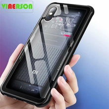 Tempered Glass Case For Xiaomi Mi8 Mi 8 Explorer Edition Bac