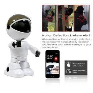 Image 2 - HD 1080P Home Security IP Camera Wireless Robot Camera Wifi Night Vision Camera 2MP Surveillance Camera CCTV Audio Baby Monitor