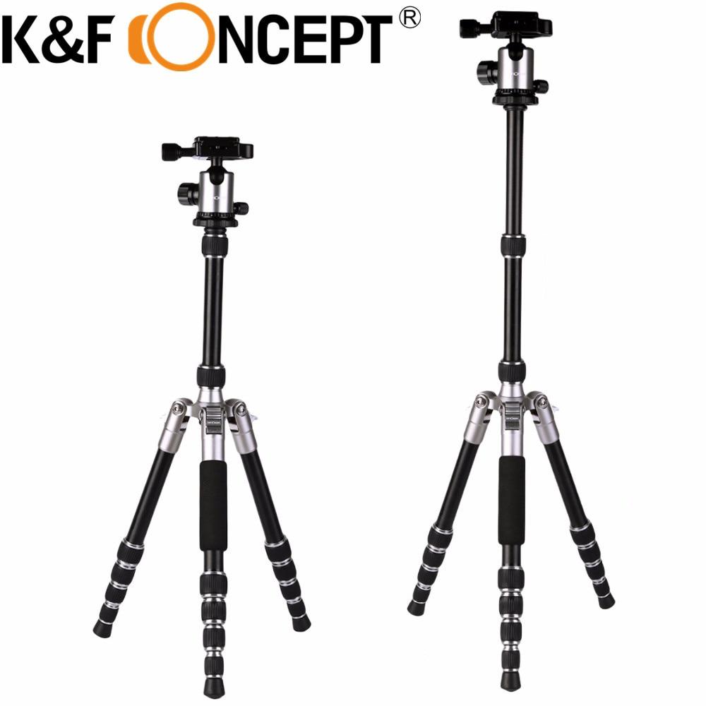 K&F CONCEPT Mini Professional Camera Tripod Aluminum Alloy