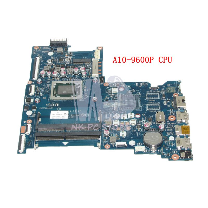 NOKOTION 854957-601 854957-001 854958-601 Pour HP 15-B 15-BA Série Carte Mère BDL50 LA-D713P AM960PADY44AB A10-9600P CPU DDR3