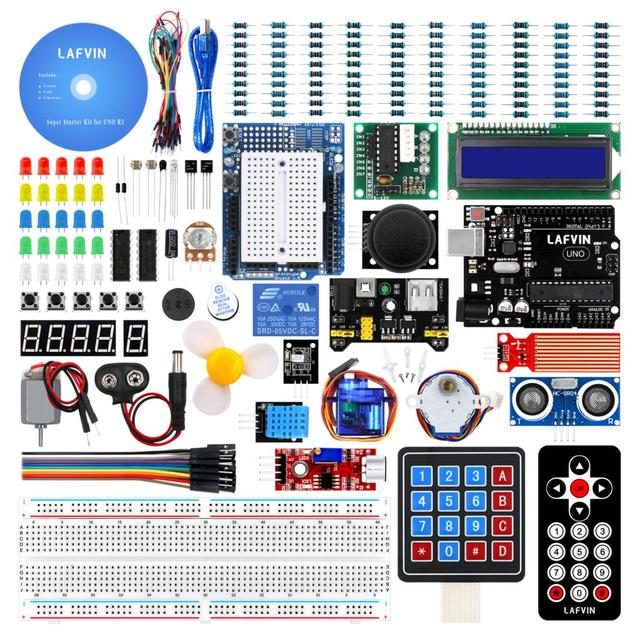 LAFVIN Super Starter Kit for Arduino UNO R3 with CD Tutorial