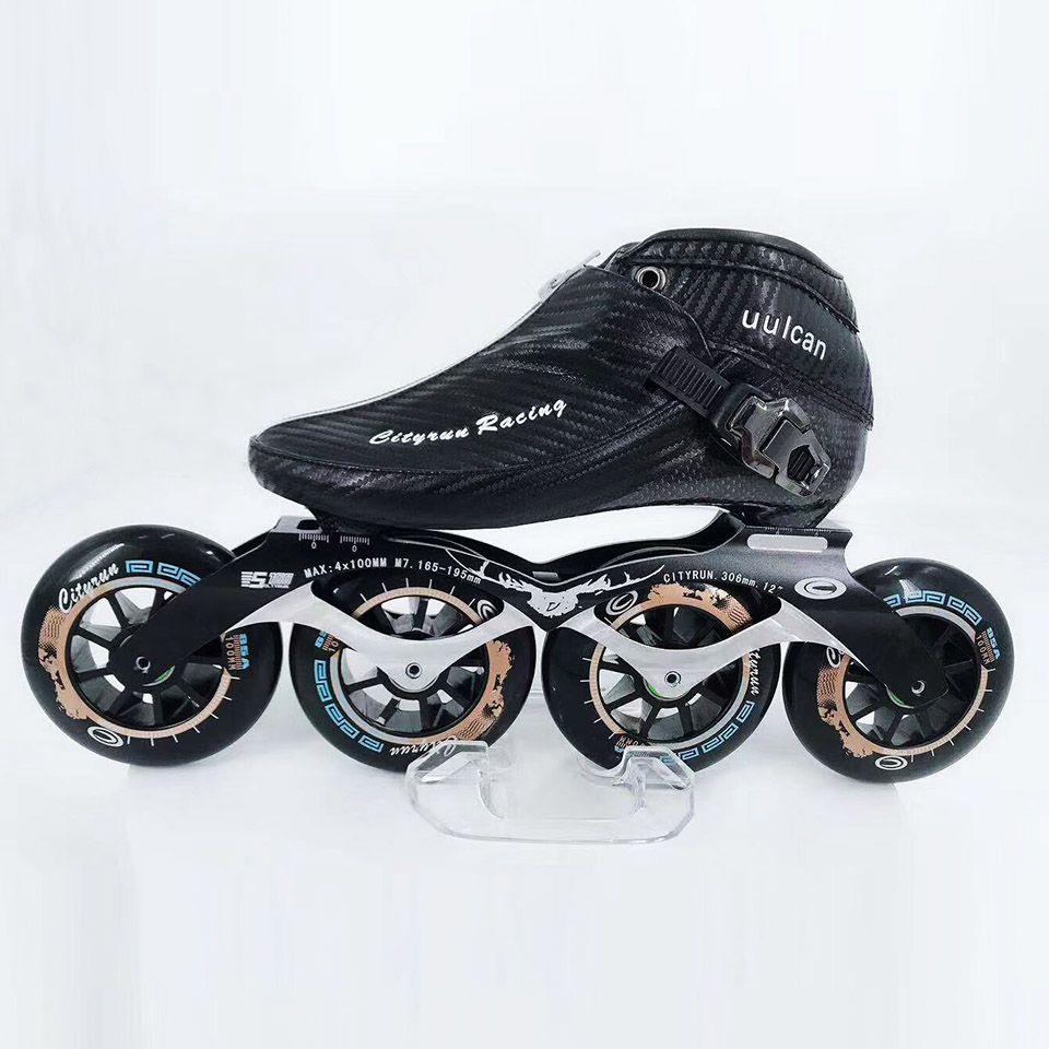 Japy 2019 Cityrun Speed Inline Skates Carbon Fiber Professional Competition Skates Racing Skating Patines Similar Powerslide Zip