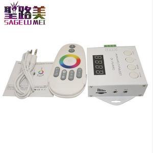 Image 4 - DC5V 12V 24V WS2812 WS2811 WS2813 6803 1903 Ic Digitale Adresseerbare Led Strip Muziek Controller Pixels Kleurrijke X1 x2 Controller