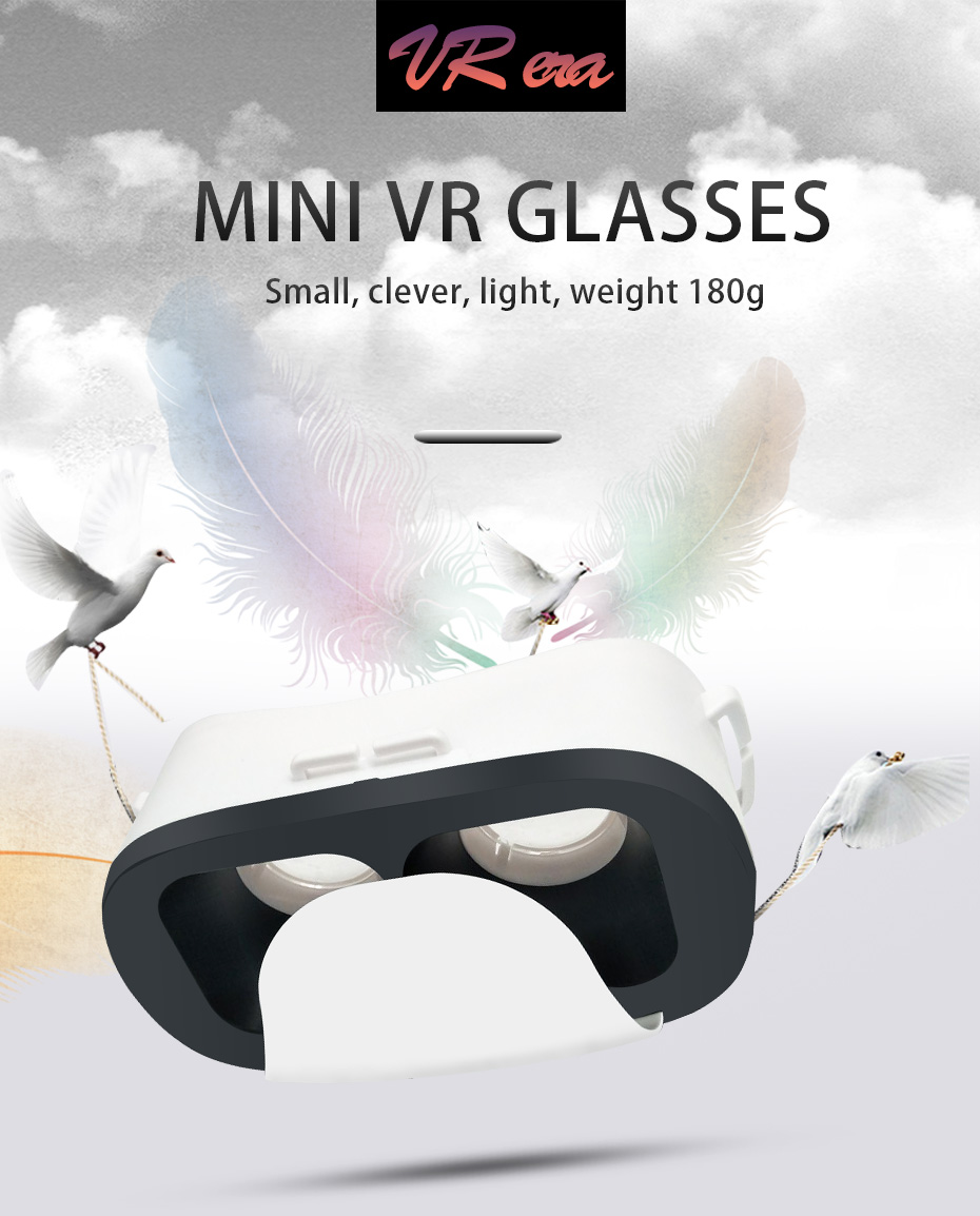 Cheap VR 3D Glasses BOX Immersive Virtual Reality VR Headset