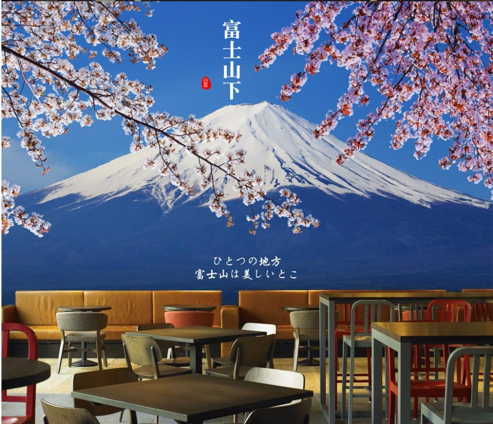 US $14 91 OFF 3d Wallpaper Custom Mural Photo Natural Scenery Under Mount Fuji In Japan Background Wall 3d Wall Murals Wallpaper For Walls 3