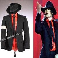 MJ michael jackson Tehlikeli Reçel KÖTÜ Tur Siyah Punk Skinny Ceket Blazer Suit Göster Performans İmitasyon resmi elbise Parti