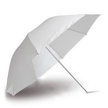 Фотография фото Pro Студия мягкий полупрозрачный белый лямбенд зонтик для студийной вспышки лампа освещение фотографический аппарат