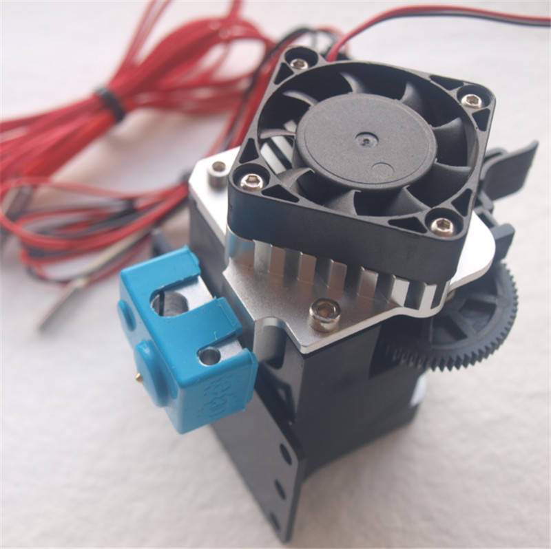 Funssor Set of Titan Aero V6 hotend extruder reprap 3D printer upgrade Titan Aero extruder kit 1.75mm/3mm 12V/24V 40W Fast ship flsun 3d printer big pulley kossel 3d printer with one roll filament sd card fast shipping