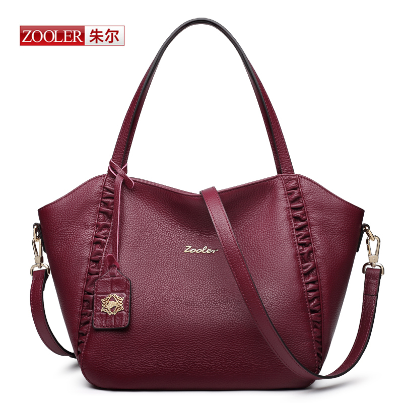ZOOLER 2016 Luxury font b Handbags b font Women Bags Designer High Quality Fashion Genuine Real