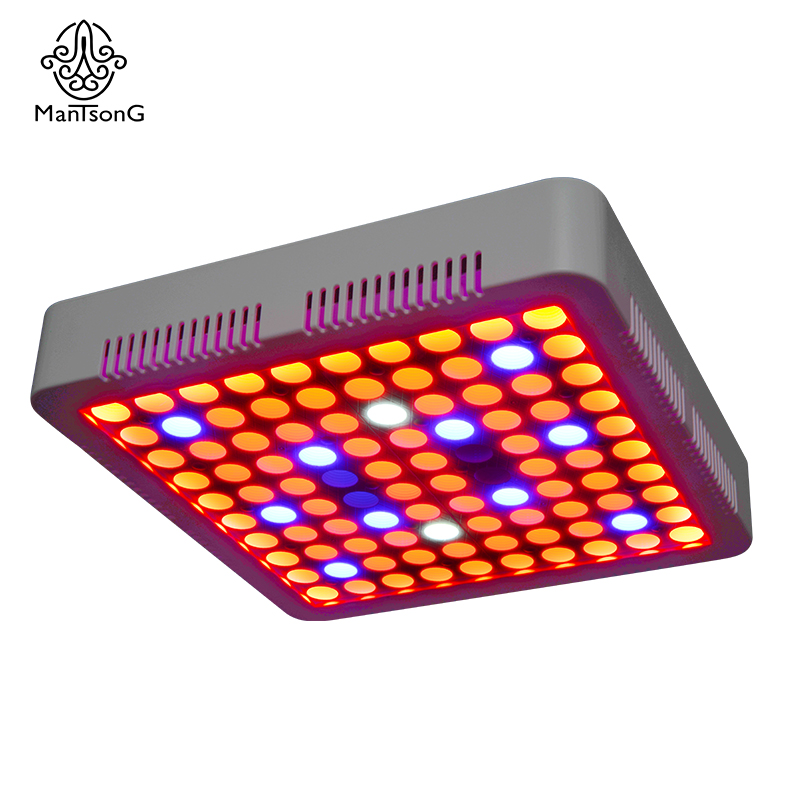 Mantsong Full Spectrum 300W LED Grow Light for Hydroponics Flower Fruit Greenhouse Indoor Plant best full spectrum 300w led cultivate light for hydroponics greenhouse grow tent led lamp suitable for all plant growth 85v 265v