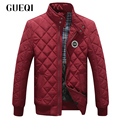 GUEQI Men Fashion Warm Jackets Plus Size L-3XL Stand Collar ADD Fleece Coats 2017 New Model Man Casual Winter Outerwear