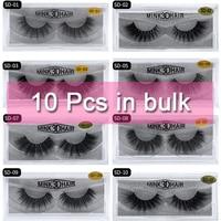 Mangodot Wholesale10 Pairs SD series lashes Mink Lashes Luxury Natural long Mink False Eyelashes Cross Thick Extension Eyelash