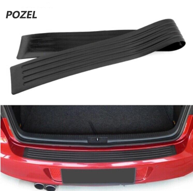 Car Trunk guard plate sticker for Skoda rapid a5 a7 YETI