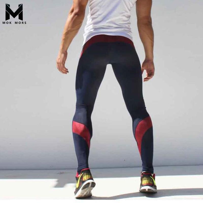 Mens Joggers Long pants Cotton Mens gasp workout Fitness Pants Men Casual Fashion Compression Sweatpants Pants Skinny Trousers