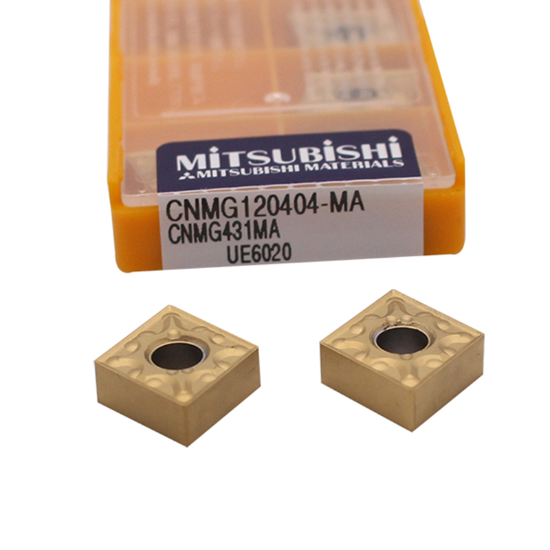 CNMG120404 MA UE6020 10PCS carbide inserts Internal latter cutter turning tool for metal cnc machine cutting tools CNMG 120404