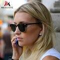 Meguste поляризованные солнечные очки женщин бренд designer. горячий продавать половину кадра vintage открытый солнцезащитные очки мужчины clubmaster очки.