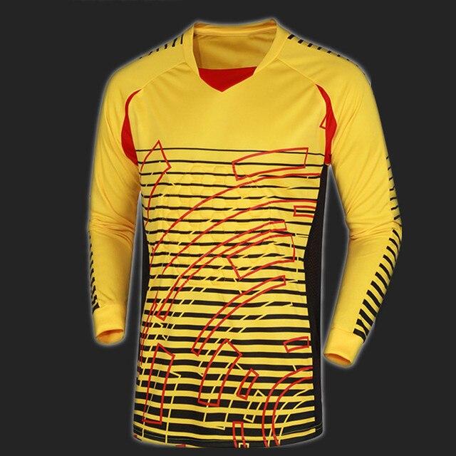 bbeba585a Football Soccer Goalkeeper Jersey Clothing Clothes Clothing Goalie GK Shirt  NEW Long Sleeve Pad Youth Adult Full Size UNCN 024