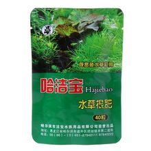 40 шт. водные растения корень воды удобрения сгущенный аквариум цилиндр