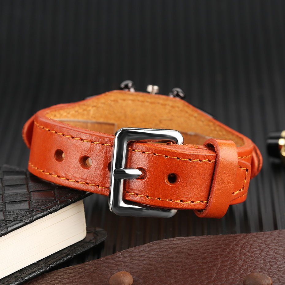 Hot Sale KEVIN Quartz Watches for Men Creative Arabic Number Rectangle Dial Leather Band Strap Male Clock for Fashion Gifts (23)