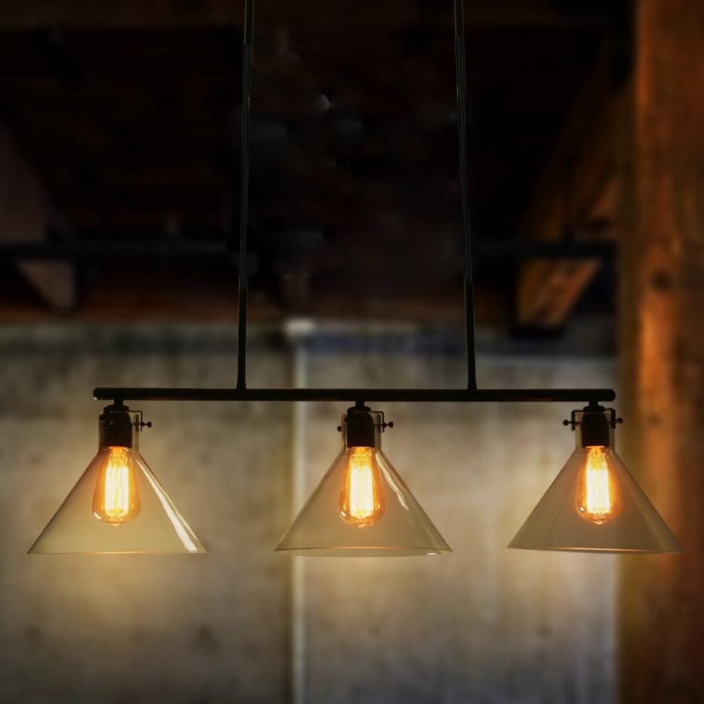 pendant lighting for bars. Nordic Vintage Pendant Light 3 Heads Industrial Metal Lamps Bar Cafe Luminaire Suspendu Lamp Ceiling Lamps-in Lights From \u0026 Lighting For Bars