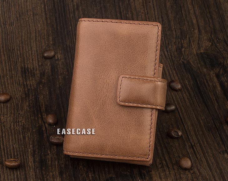 Image 2 - E4 Custom Made Genuine Leather case for HIFIMAN R2R2000-in Phone Pouches from Cellphones & Telecommunications