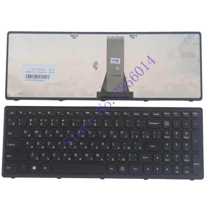 NEW!!! Russian Keyboard For Lenovo IdeaPad G500S G505S RU lapotat Keyboard Black new lenovo g500s g505s ap0yb000h00 bottom base cover
