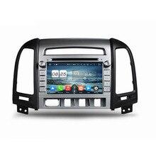 Оперативная память 2 ГБ Встроенная память 32 г Octa core Android 6.0 Fit Hyundai Santa Fe 2006-2008 2009 2010 2011 2012 dvd-плеер автомобиля навигация GPS Радио