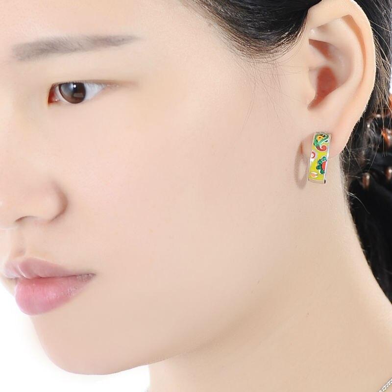 E303901ENMSL925-002-Silver Earrings
