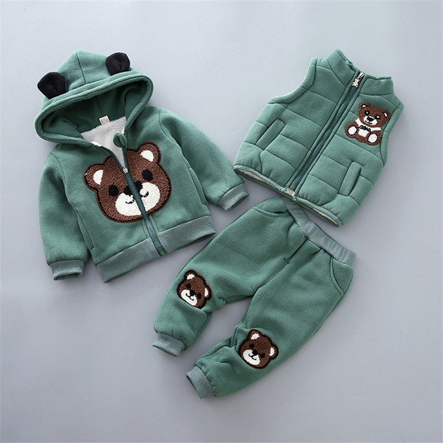 79cbec42a2f0 Baby Girl Clothes Child Girl Winter Clothes Suit 0 1 2 3 Year Old ...