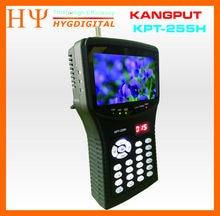 [GenuineKPT-255H сб finder hd заменить спутниковый искатель KPT-055H монитор 4.3 дюймов DVB-S/S2 тестового сигнала с av usb hd outpu